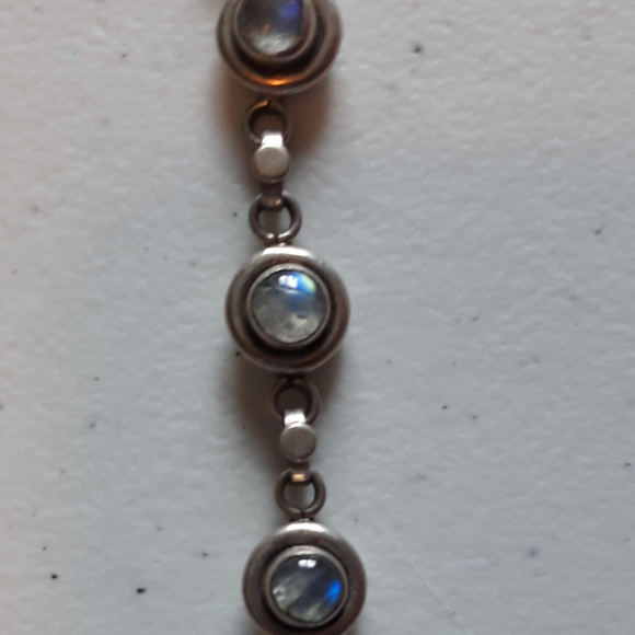 Jewelry - Sterling Silver and Moonstone Bracelet